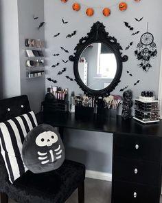 Dark Home Decor, Goth Home Decor, Horror Room, Gothic Room, Halloween Bedroom, Aesthetic Bedroom, Beauty Room, Bedroom Decor, Goth Bedroom