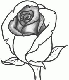 How to Draw a Rose Bud, Rose Bud, Step by Step, Flowers, Pop Culture, FREE Online Drawing Tutorial, Added by Dawn, February 9, 2013, 6:48:11 pm