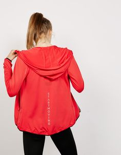 Technical sports jacket with perforated back - Sport Start Moving - Bershka…