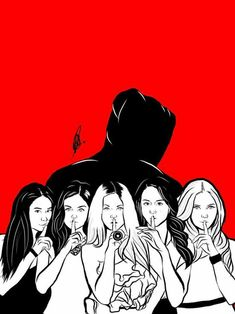 pll, background, and pretty little liars image