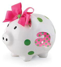 Ceramic Piggy Banks | Home > Gift Ideas > Painted Ceramic Piggy Bank