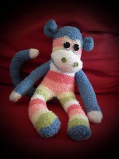 monkey sock animal