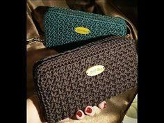189a932c982 MINI BAG PORTACELLULARE uncinetto crochet PUNTO POPCORN - YouTube Τσάντες,  Κροσέ Tote, Πλεκτά Από