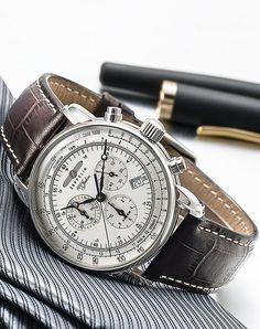 Amazon.com: Graf Zeppelin Chronograph and Alarm Watch 7680-1: Clothing