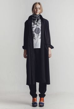 COAT ODESSA BLACK  in the group All items / Coats  at Rodebjer Form AB (CRPC92_BLK_Lr)