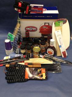 Unique Silent Auction Gift Basket Ideas auction baskets and other . Fundraiser Baskets, Raffle Baskets, Gift Baskets, School Auction Baskets, Silent Auction Baskets, Bbq Gifts, Grilling Gifts, Chinese Auction, Theme Baskets