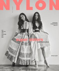 """The Jung sisters united for 'Nylon.'The January issue of the fashion magazine featured Jessica and Krystal as the cover models. The """"super sis… Fashion Cover, Fashion Line, Modest Fashion, Daily Fashion, Girl Fashion, Fashion Styles, Jessica & Krystal, Krystal Jung, Tapas"""