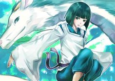 Tags: Spirited Away, Haku, Studio Ghibli, Haku (Dragon)
