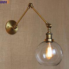 Retro Industrial wandLamp Vintage Loft Iron LED Wall Light Up Down For Bathroom Indoor Living room Bedroom Luminaire Sconce