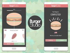 Burger Delivery App UI
