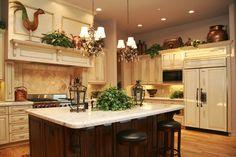 Custom home chef's kitchen
