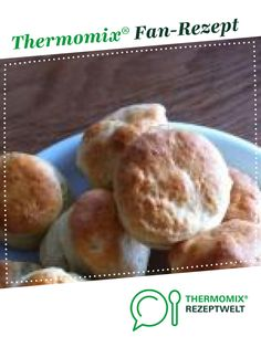 Best Ever Scones from Hütchen. A Thermomix ® recipe from the category baking sweet www.de, the Thermomix ® community. Thermomix Scones, Low Buns, Afternoon Tea, Good Food, Brunch, Bread, Baking, Sweet, Muffins