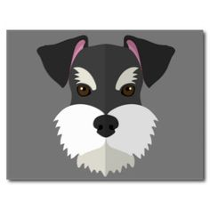 schnauzer desenho rosto - Pesquisa Google