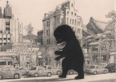 de Crécy on Kyoto – Meathaus Enterprises: Comics + Cartooning + Animation + Inspiration