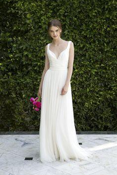 Monique Lhuilier wedding dress