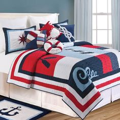 To the Sea Bedding By C & F Bedding
