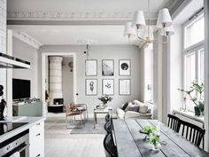 Interiors: Beautiful Scandinavian Home and a Stunning Kitchen   Project Fairytale   Bloglovin'