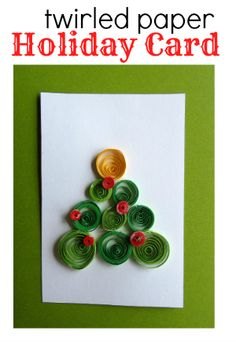 Fun craft and holiday card . Great for tweens.