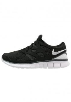 ... vente Nike Sportswear - FREE RUN 2 - Baskets basses - black/white/dark  grey .