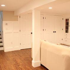 Basement Renovation - traditional - basement - boston - Christina Katos