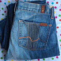 7 for all mankind size 27 7 for all mankind size 27 7 for all Mankind Jeans Straight Leg