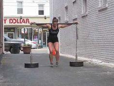 Jamie Kovac - 420 lb Chain Yoke PR - YouTube