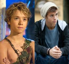 Peter Pan. Growing up isnt so bad is it? (Always thought he looked like a young Hayden Christensen)