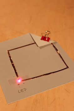Tinkering with paper circuits