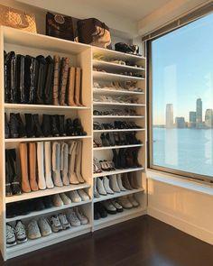 Small Closet Design, Bedroom Closet Design, Master Bedroom Closet, Closet Designs, Small Master Closet, Hallway Closet, Ikea Closet, Bedroom Decor, Cozy Bedroom