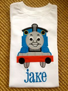 Thomas the train shirt. Personalized!
