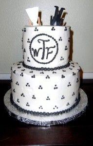 Divorce Cake. Divorce Party. Trash the Dress. Celebrate!