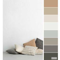 Color palette the hamlet - 2019 room color schemes, house co House Color Palettes, House Color Schemes, Living Room Color Schemes, Good Living Room Colors, House Colors, Living Room Decor, Bedroom Decor, Color Combinations For Walls, Neutral Color Palettes