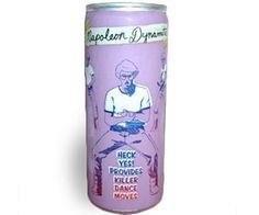 Napoleon Dynamite Energy Drink. Heck yes! Provides killer dance moves!!
