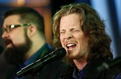 Austin Brown of Music group 'Home Free' appears on NBC News' 'Today' show