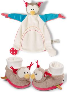 Neat-Oh My First Nici Owl Comfy and Matching Booties