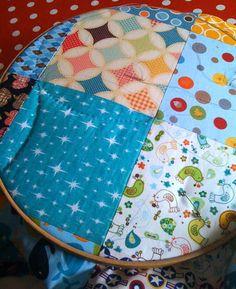 Tuto couverture patchwork facile r aliser astuces et - Modeles patchwork pour debutant ...