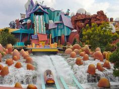 Tips on water rides @ Universal Studios Orlando