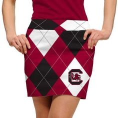 South Carolina Gamecocks Logoed Womens Skort by Loudmouth Golf.  Buy it @ ReadyGolf.com