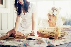 friendship-  friends who like to READ!!
