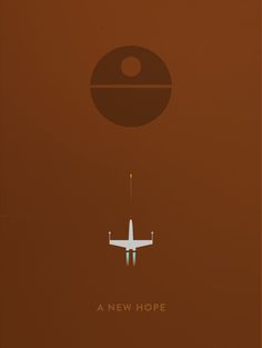 Star Wars Minimalist Posters - Created by Aaron Johnson