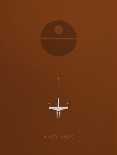Star Wars Minimalist Posters - Created by Aaron Johnson