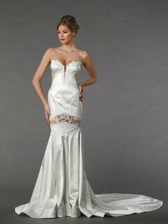 Sweetheart Mermaid Gown in Silk