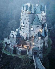 Castle Eltz, Virsheme Germany.
