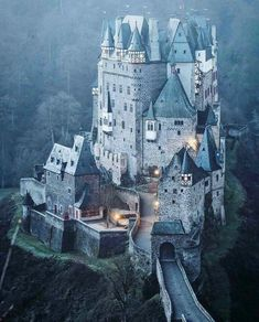 Castle Eltz, Virsheme Germany.