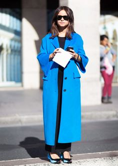 8 Genius Style Lessons We've Learned From Miroslava Duma via @WhoWhatWear
