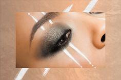 Make Up For Ever Aqua XL Eyeliner Festival Makeup | Four festival-inspired eye looks created by Make Up For Ever. #refinery29 http://www.refinery29.com/make-up-for-ever-festival-makeup-looks