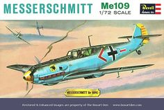 Revell Germany Me-109 '60's