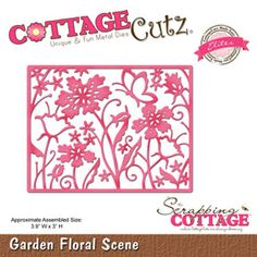 The Scrapping Cottage - Where CottageCutz are Always Blooming - CottageCutz - May 2016