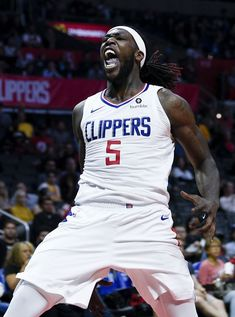 Montrezl Harrell Fiba Basketball, Gregg Popovich, Basketball Highlights, La Clippers, Los Angeles Clippers, Nba Stars, Sport 2, Sports Pictures, Nba Players