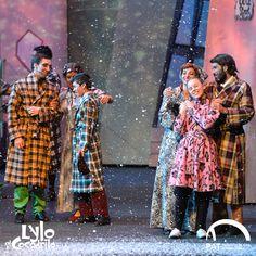Estar con tu familia en una ciudad nevando, época de paz y reconciliación Lylo el Cocodrilo #LyloelCocodrilo #Lylo @patmexico
